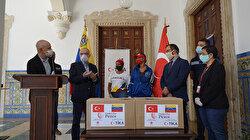 تركيا توزع طرودا غذائية على 400 أسرة فنزويلية