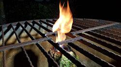 Düzce'de kuyudan çıkan su alev alev yanıyor