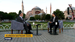 Ayasofya'da Kurban Bayramı