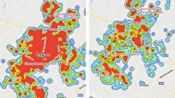 Batman'da koronavirüs alarmı: Bir aylık sürede harita kırmızıya döndü