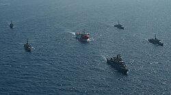 Turkish Navy protecting Oruç Reis in East Mediterranean