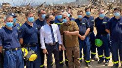 German foreign minister visits blast-stricken Lebanon