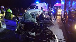 Mardin'de trafik kazası faciası: Çok sayıda ölü var