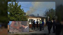 Ayakları zincirle bağlı bir şekilde bulunmuştu: Yangından son anda kurtulan çocuğun ailesinin savunması şoke etti