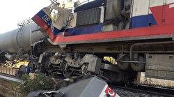 Yozgat'ta 2 yük treni çarpıştı: Kazada makinistler yaralandı