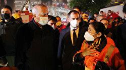 Cumhurbaşkanı Erdoğan deprem bölgesinde incelemelerde bulundu