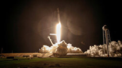 NASA, SpaceX astronauts arrive at space station