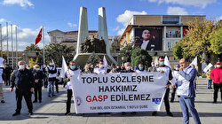 CHP'li Bakırköy Belediyesi'nde işçilerin zam eylemi