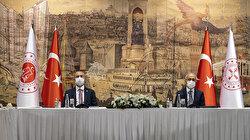 تركيا: وزيرا المالية والعدل يلتقيان رجال أعمال