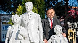 CHP'li Bilecik Belediyesi'nden yeni heykel açılışı