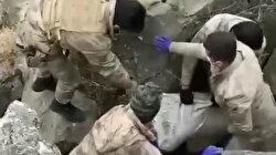 Iğdır'da vahşet: Babalarını elektrik kablosuyla boğup, mağaraya gömdüler