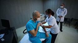 Kovid-19 aşısında üçüncü gün: 650 bini aşkın sağlık çalışanı aşı oldu