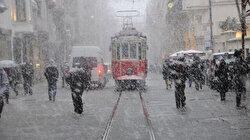 Meteoroloji İstanbul için saat verip uyardı: Yoğun kar bekleniyor!