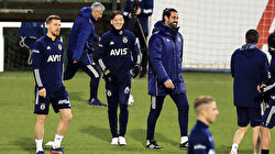 Mesut Ozil attends 1st training session with Fenerbahce