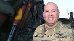 """ABD'li komutandan """"PKK ile kol kolayız"""" mesajı"""