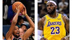 James, Durant select their 2021 NBA All-Star teams