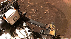 Perseverance marks its 1st drive on Mars surface