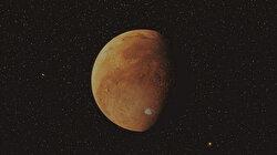 Çin'in Mars keşif aracı Tienvın-1 ile çekilen yeni fotoğraflar paylaşıldı