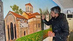 """تركيا .. فنان يزين شوارع ولاية """"بيلاجك"""" بجداريات غرافيتي"""