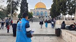 Türkiye Diyanet Vakfı Filistin'de yaraları sarmaya devam ediyor