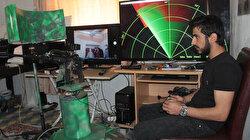 Hakkarili genç radar ve silah entegrasyonu sistemi tasarladı
