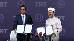 Diyanet ve TRT'den ortak proje: 'TRT Diyanet Çocuk' kanalı için imzalar atıldı