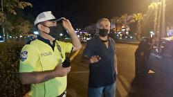 """""""Ben size bir şey demedim"""" diye başladı: Polislere beddua edince gözaltına alındı"""