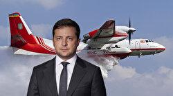 Ukrayna Devlet Başkanı Zelenskiy: Söz verdiğimiz gibi uçaklar yangınları söndürmek için Türkiye'de