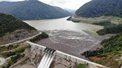 Selin getirdiği ağaçlar Kirazlı Barajı'nı doldurdu
