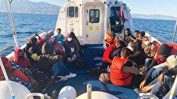 59 göçmeni ölüme terk ettiler