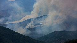 Tunceli'de yangın iki noktada söndürüldü