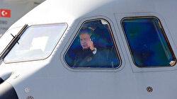 Uçak kale 'Koca Yusuf' göklerde: Birinci pilot Bakan Akar oldu