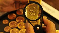 Kapalıçarşı'da altın düşüşle kapattı