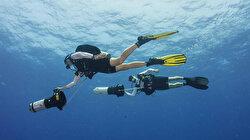 Yunanistan'a denizin altından 'sea scooter' ile kaçmak isteyen 3 FETÖ'cü yakalandı