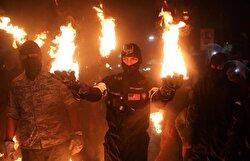 Balls of Fire festival in El Salvador