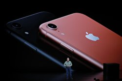 Philip W. Schiller, Senior Vice President, Worldwide Marketing of Apple, speaks about the new Apple iPhone XR at an Apple Inc product launch event at the Steve Jobs Theater in Cupertino, California, U.S., September 12, 2018.
