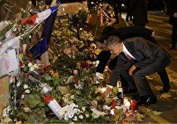 الرئيس الأمريكي باراك أوباما كرم ضحايا هجمات باريس