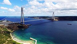 The Osman Gazi Bridge, a colossal suspension bridge, stands as one of the largest projects, which extends across the Gulf of İzmit and commands an unusual sea view along the eastern end of the Marmara Sea.