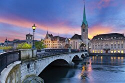 Switzerland, known for its ski resorts and hiking trails, ranked third.