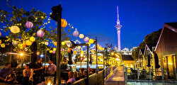 New Zealand, a nation split into two islands, ranked ninth.