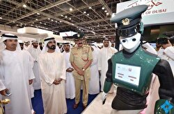 """Dubai is set to get its first android police officer and the department has plans for it to go on patrol by May of this year, according to officials.The latest prototypes of the robot cops, aptly dubbed """"Robocop"""", were unveiled late last year at the Gulf Information Technology Exhibition (GITEX). The android cop boasts a list of crime fighting features, and members of the public are said to be able to report crimes to the robot using a touchscreen on its chest."""