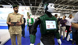 "Dubai is set to get its first android police officer and the department has plans for it to go on patrol by May of this year, according to officials.The latest prototypes of the robot cops, aptly dubbed ""Robocop"", were unveiled late last year at the Gulf Information Technology Exhibition (GITEX). The android cop boasts a list of crime fighting features, and members of the public are said to be able to report crimes to the robot using a touchscreen on its chest."