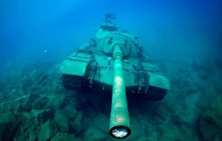 A 45 ton tank belonging to the Turkish Armed Forces was discovered in the Mediterranean Sea. The tank is a 1960 model, and was found near the port of Kaş.
