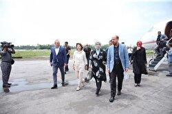 Emine Erdoğanarrives in Bangladesh