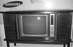 First Samsung television