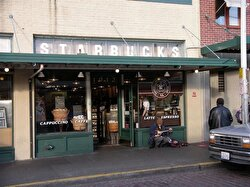First Starbucks shop