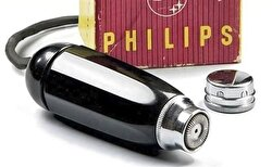 First Philips electric shaver