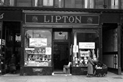 When Lipton was a general store