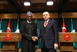 President Erdoğan receives his Nigerian counterpart Buhari