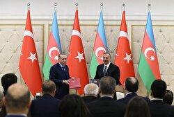 President Erdoğan and President Aliyev of Azerbaijan hold joint press conference in Baku